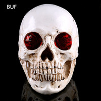 Resin Craft Skull Statues For Decoration Creative Skull Figurines Sculpture Home Decoration Accessories Skull Ornaments