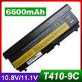 6600mAh laptop battery for Lenovo ThinkPad E40 E50 L410 L412 L420 L421 L510 L512 L520 T420 T520 W510 W520 SL410 SL510 T410 T510