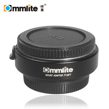 Commlite FT-MFT Lens Mount Adapter for Olympus OM Zuiko 4/3 (OM 4/3) Lens to Micro 4/3 (MFT) Camera Body with Auto-Exposure