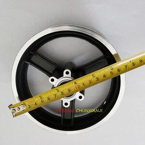 Image 5 - 좋은 품질 10 인치 전기 스쿠터 휠 허브 10 인치 알루미늄 합금 휠 림 10x2 10x2.125 10x2.50 10x2.25 타이어 림