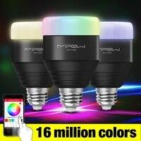 MIPOW E27 LED Bulb 5W RGB Light Dimmable Smart Lighting Bluetooth 4 0 Wireless App Control