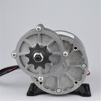 24V 36V 350W Brushed Gear DC Motor For Electric Bike Engine Ebike Rear Wheel Motor E Scooter Bicycle Accessories MY1019Z3