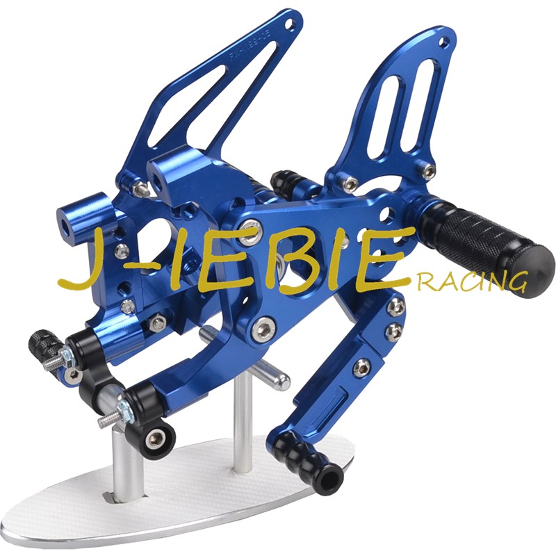 CNC Racing Rearset Adjustable Rear Sets Foot pegs Fit For Ducati 899 959 1199 1299 Panigale 2012 2013 2014 2015 2016 BLUE