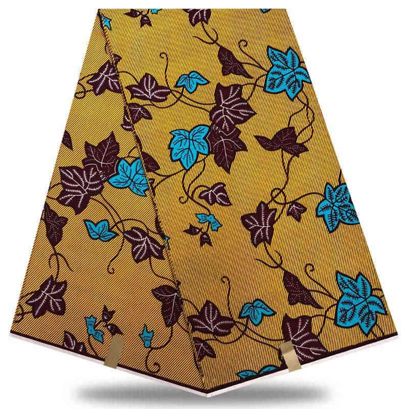 Yüksek Kaliteli Afrika baskılar dantel kumaş gerçek hollandalı balmumu gerçek hollandalı balmumu Nijeryalı Kumaş 6 yards/adet 100% pamuk BXSZ18