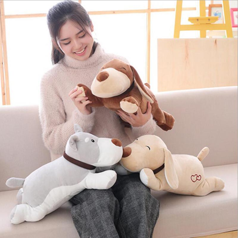 Hot Sale Lovely Dog Plush Toy Stuffed Animal Dog Doll Soft Plush Pillow Gift For Children Kids in Stuffed Plush Animals from Toys Hobbies