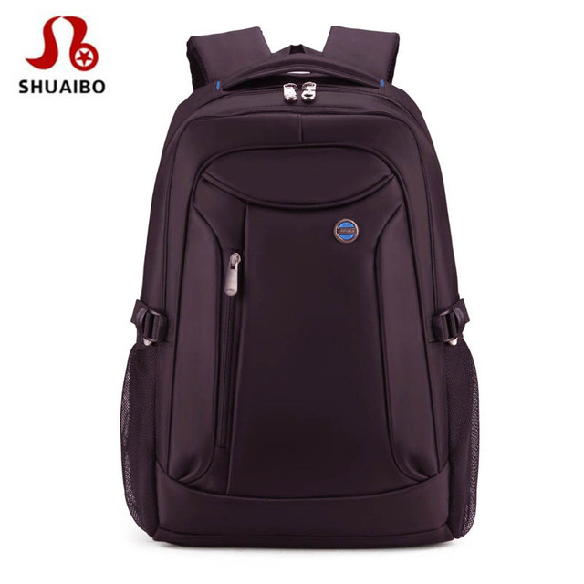 a92aaabf04ff SHUAIBO Large Capacity Fashion Men Backpack Waterproof Travel Backpack  Multifunctional Bag Male Laptop Backpacks Mochila 16 Inch