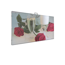 p3.91 indoor transparent led screen shopping mall large advertising screen for window or glass