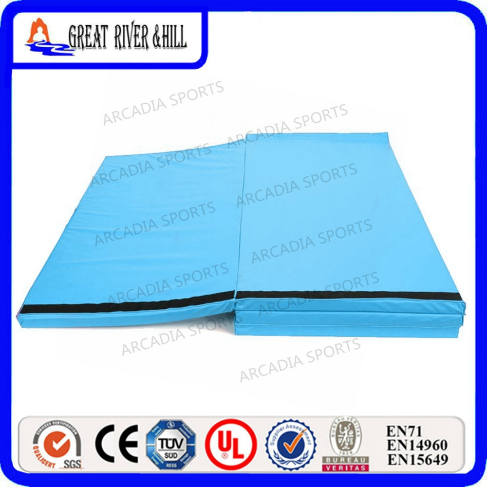 4 panel gymnastic tumbling mat exercise mat thick padding mat 2.4mx1.2mx3cm4 panel gymnastic tumbling mat exercise mat thick padding mat 2.4mx1.2mx3cm