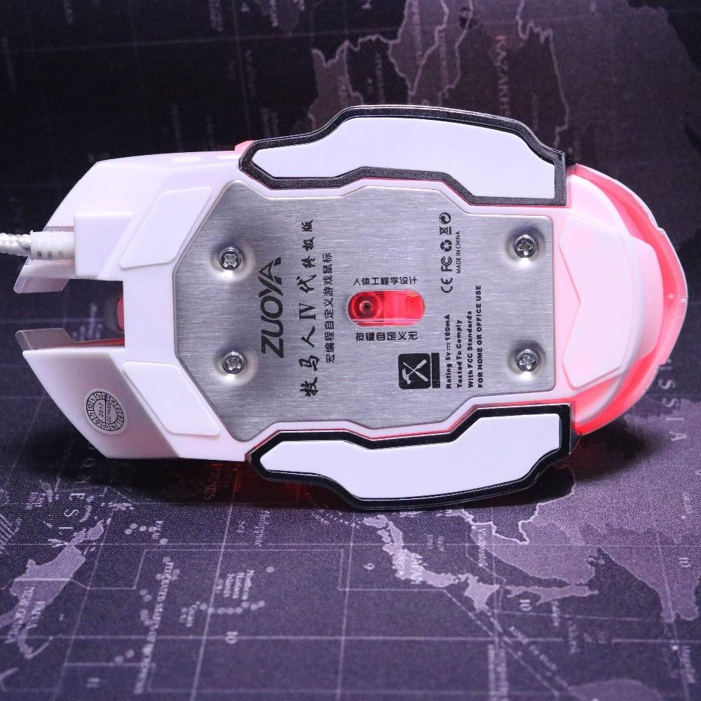 3200 DPI 6 Botón LED Óptico USB con conexión de cable Ratones de - Periféricos de la computadora - foto 4