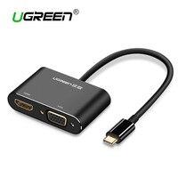 Ugreen USB C HDMI VGA Adapter Type C To HDMI 4K Thunderbolt 3 For Samsung Galaxy