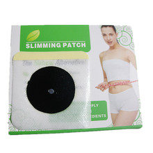15 boxes=450pcs Hot Sale Slimming Navel Sticker 7.5x7.5cm Slim Patch Health Weight Loss Burning Fat Paste