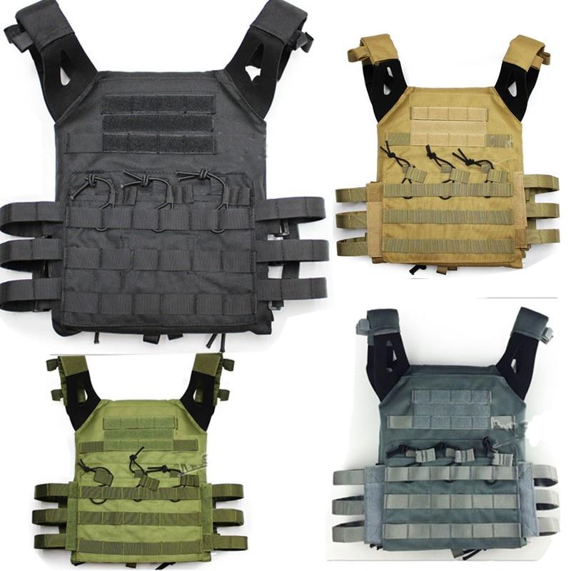 цена на New militaire Paintball veste combat tactique JPC gilet de combat MOLLE style noir brun tactiqu ciras gilet reporter GK tactique