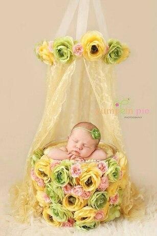 Nouveau-né photographie accessoires Photo Studio enfants photographie accessoires cent jours bébé Photo seau Photo baril ensemble enfants jouets