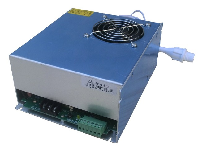 co2 laser cutting machine power supply DY10 for  80w reci tube