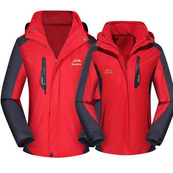 Women ski jacket Mountain Thicken Plus Size Fleece Ski-wear Waterproof Hiking Outdoor Snowboard Jacket Female Snow Jacket - SALE ITEM Sports & Entertainment