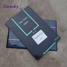 Sênior de Células Policristalino do Painel Alta Qualidade 4.2 W 18 V Placa Solares de Silício Solar DIY Carregador Celular