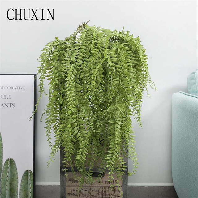 Artificial Plants For Living Room Design Your Own 90cm Wall Handing Wedding Arch Decoration Fake Plant Home Decor Drip Water Flower Bouquet