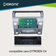IOKONE Car Video DVD CD Player Stereo GPS For Citroen C4 With 3G,Radio,Bluetooth,GPS,iPod,Steering Wheel Control,Canbus
