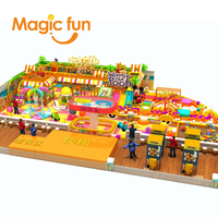 MAGICFUN swing seat amusement equipment children amusement park
