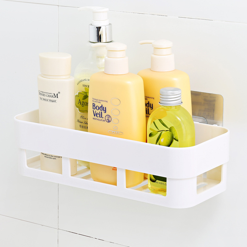 Self Adhesive Kitchen Storage Box Organizer Toilet Bathroom Storage Rack  Wall Shelf In Storage Holders U0026 Racks From Home U0026 Garden On Aliexpress.com  ...