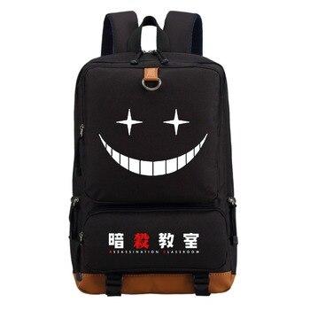 WISHOT Assassination classroom  Backpack Shoulder travel School Bag Bookbag for teenagers men women  Casual Laptop Bags Men's Backpacks