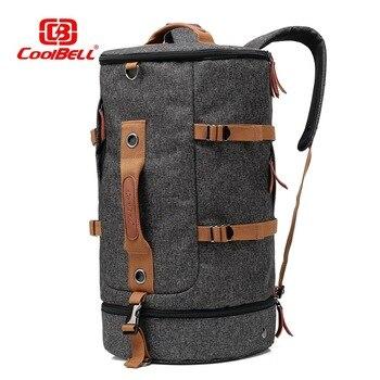 M162 multifunción estilo de viaje de gran capacidad mochila 50L equipaje masculina hombro ordenador Backpacking hombre bolsos versátiles