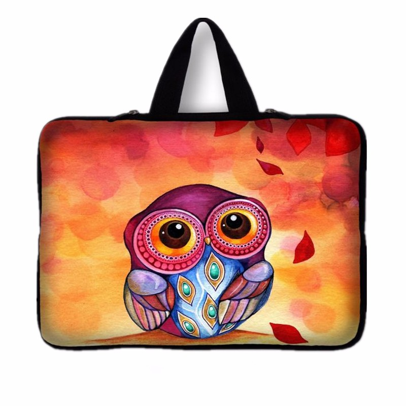 Laptop Bag Case Computer Cover For Dell HP Acer Lenovo For MacBook 11.6 12 13 14 15 15.6 17 inch night owl Laptop Sleeve