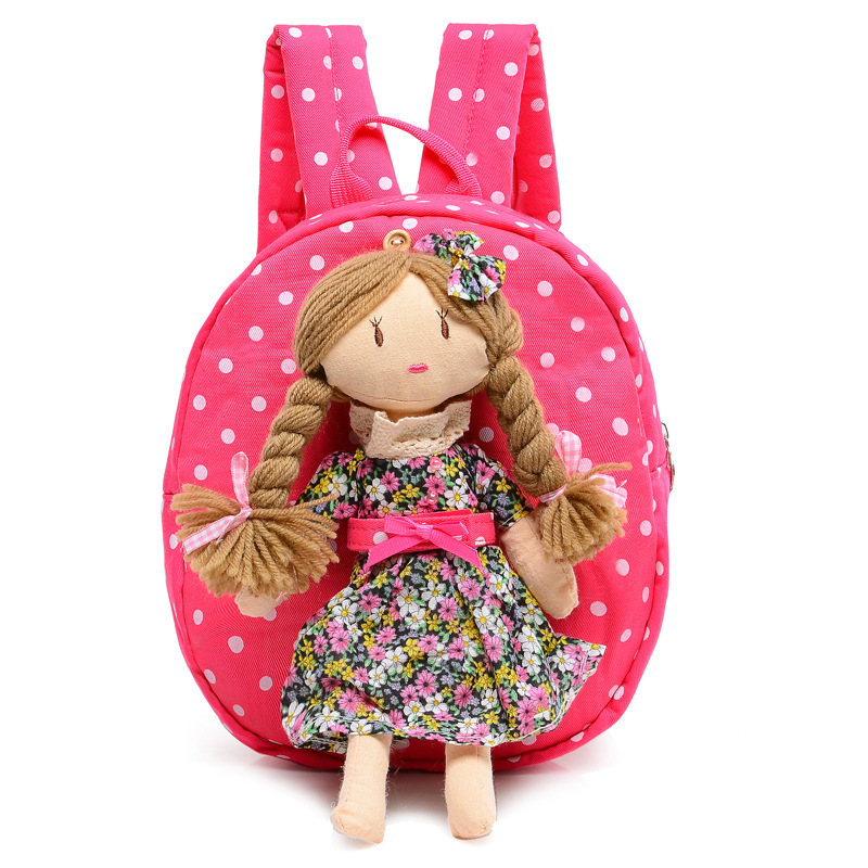 Cute Cartoon Children Travel Bag Kids Plush Backpack Toy Mini School Bag Childrens Gifts Kindergarten Boy Girl Baby Student Bags