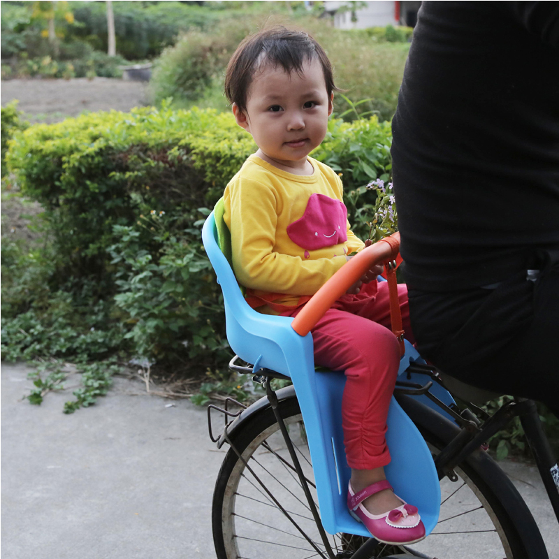 Hot Sale 2017 Bicycle child seat after electric bicycle rear seat bicycle folding baby safety seat armrest kids folding chair hot sale hot sale car seat belts certificate of design patent seat belt for pregnant women care belly belt drive maternity saf