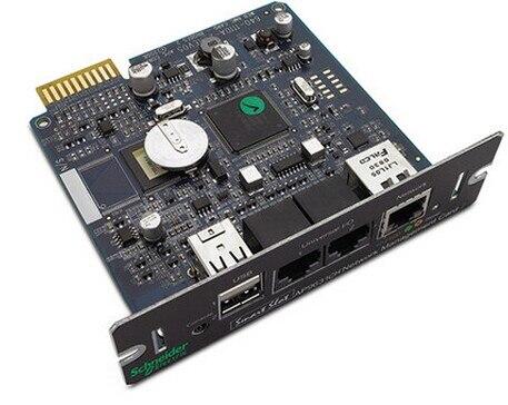 Originale per Schneider APC AP9631CH UPS scheda di gestione di rete di alimentazione sensore di umidità ambiente, di gestione di controllo AP9631