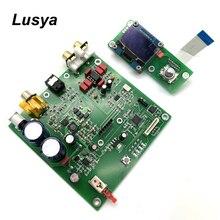 ES9038 Q2M I2S dekoder DSD koncentryczne wejście światłowodowe płyta dekodująca DAC płyta wzmacniacza audio HIFI F7 003