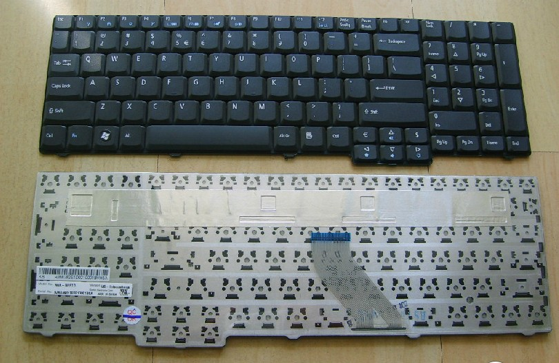 SSEA Free Shipping New Laptop keyboard for Acer Aspire 7220 7320 7520 7520G 7700 7700G 7710 7720