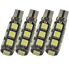 t10 led smd T10 Canbus led t10 5050 13 SMD 13 LED White Light Car Led Lamp Error  led t10 canbus 200 pcs/lot patriot pa 445 t10 x treme