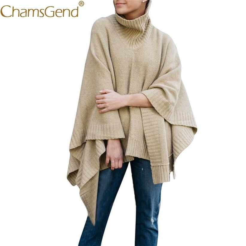 100% Wahr Neu Design Mode Frauen Batwing Pullover Und Pullover Poncho Frau Rollkragen Lose Pullover Jumper Gestrickte Pullover 81010 100% Original