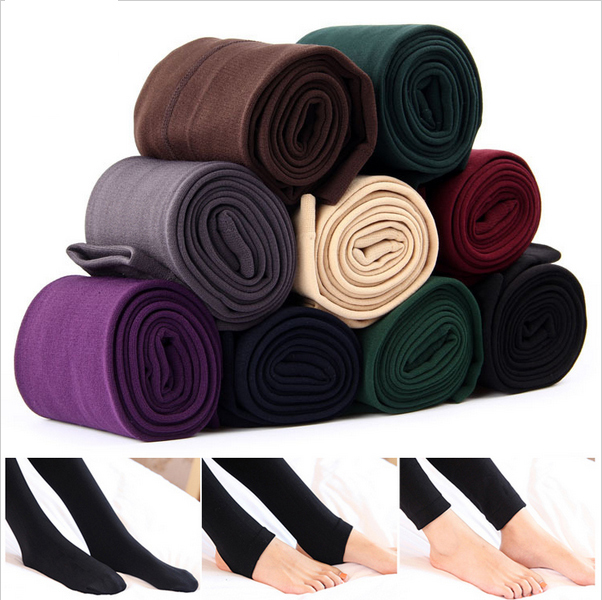 2015 New Fashion Casual Warm Faux Velvet Winter leggins Women Leggings Knitted Thick Slim fitness Super Elastic women pants - &Shoes&Fitting Co.,LTD store