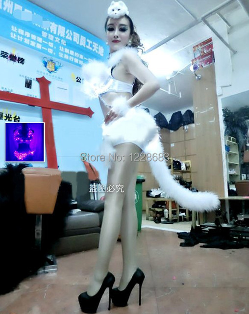 Sexy Clubwear Dance Club Dress Costume