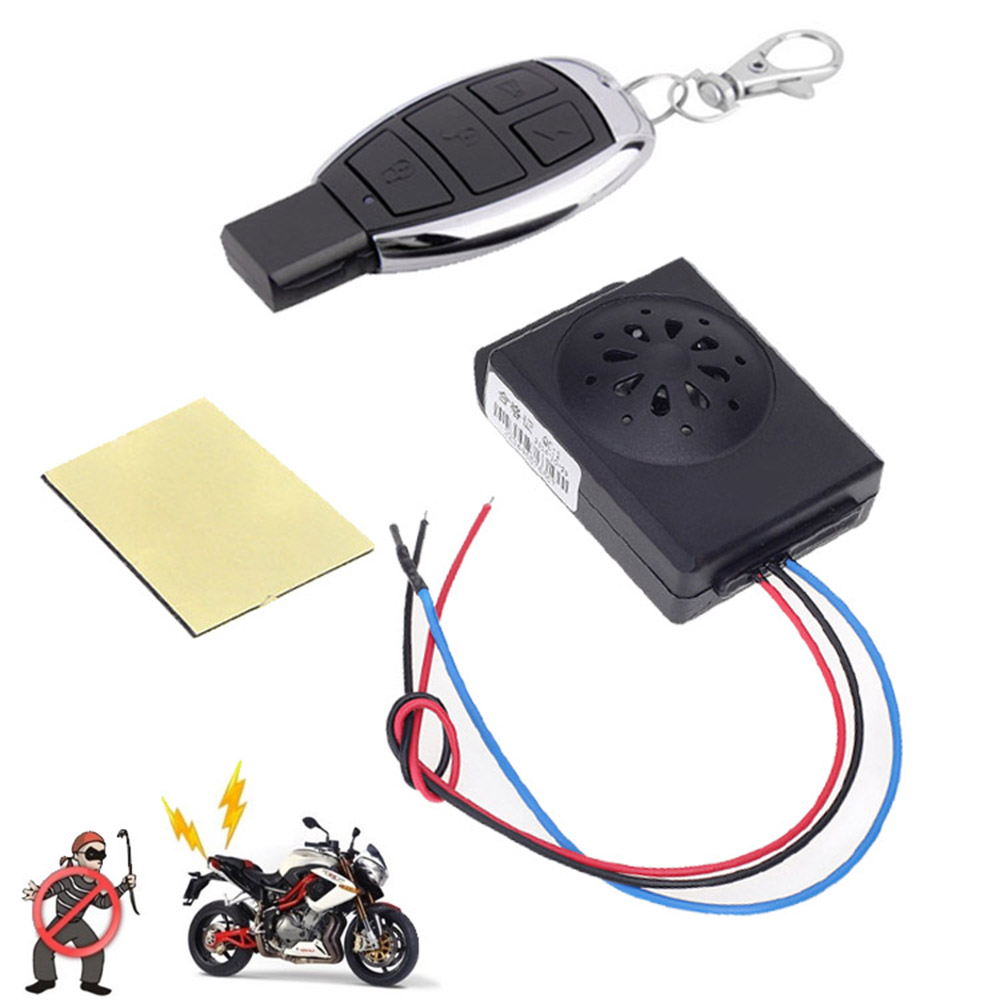 Master Racing Motorcycle Alarm Scooter Moto Anti Theft Security Alarm System Dc 12v Motorbike Bike Alarms With Remote Control Kids Bikes Shop