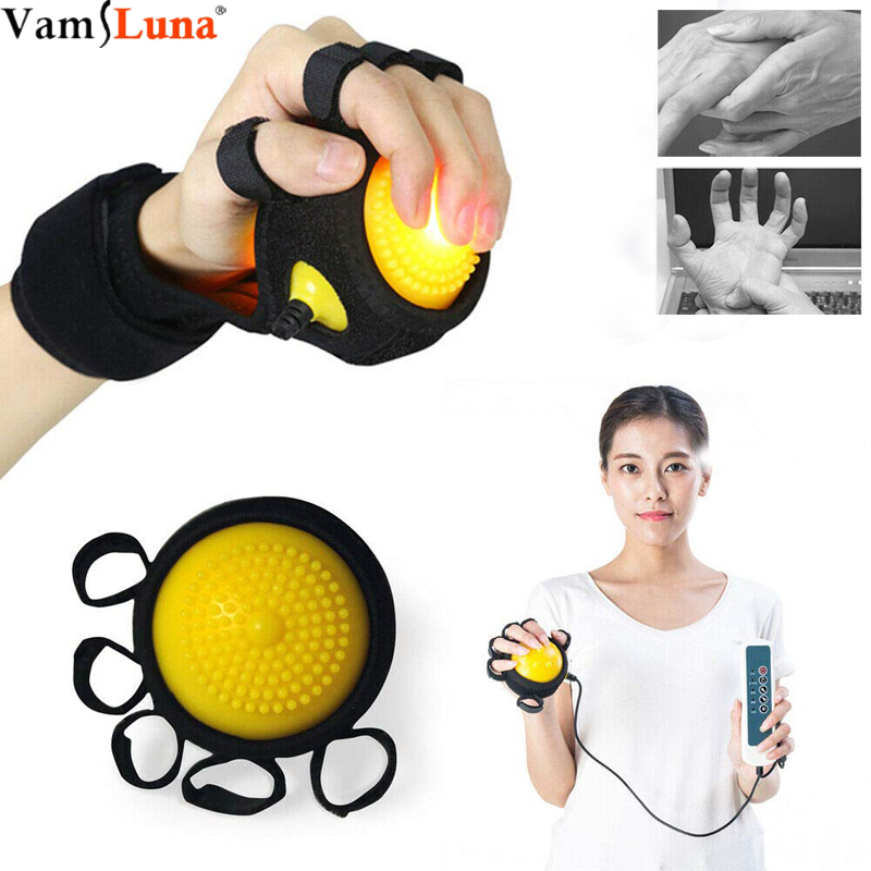 Finger Rehabilitation Training Equipment Hot Electric Massage Ball Finger Rehabilitation Training Machine Finger Recovery Equipm