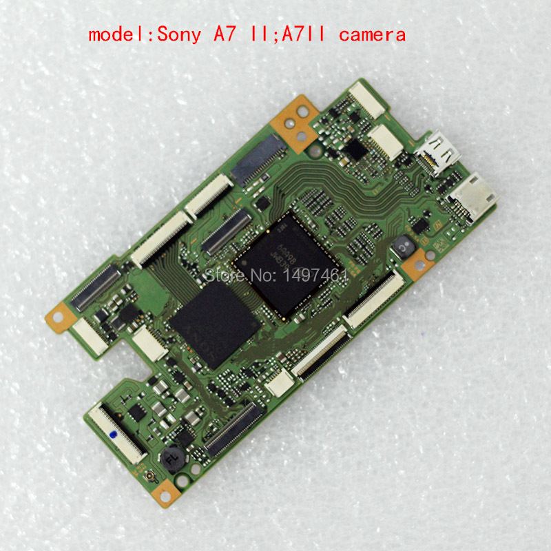 New Main circuit board/motherboard PCB Repair parts for Sony ILCE-7M2 A7 II ; A7II  camera runcam 2 pcb main board