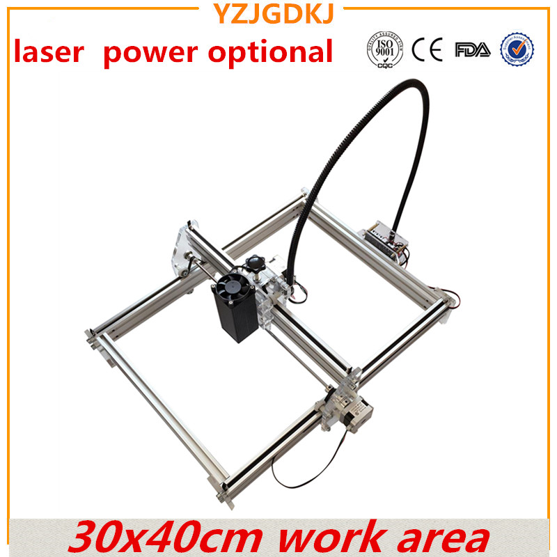 diy laser engraving machine working area 30*40cm laser engraver cutting machine for a toy laser power optional mark on metal футболка toy machine leopard brown