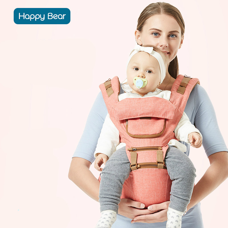 Happy Bear Backpacks CarrierNew Multi-functional Baby Sling Baby Hold before the Child Waist Stool Child Hold Bench with Seasons