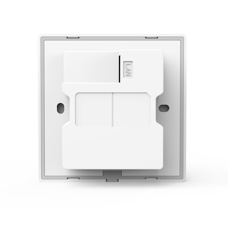 300Mbps Wireless In wall Access Point WIFI AP Indoor Wi Fi Repeater Extender Indoor Wall Mount Standard 86 86mm Panel Design in Access Points from Computer Office