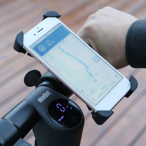 Image 5 - Segway ninebot Scooter Phone Bracket 360 Degree Rotatable Bicycle Motorcycle Holder For 4.7inch 6.5inch Mobile Phone