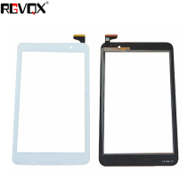 RLGVQDX  New Touch Screen for Asus Memo Pad 7 ME176 K013 Black/White Front Tablet Touch Panel Glass Replacement parts