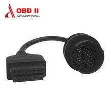 Adaptateur de câble OBD 2 pour Mercedes Benz 38 broches à 16 broches, connecteur de voiture