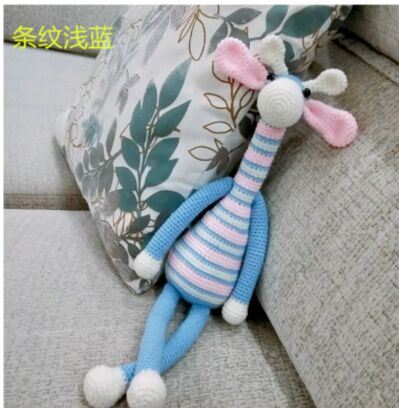 Handmade material packag Knitting crocheted doll Material packages wool deer doll production Plush toy crochet with weaving tool|DIY Knitting| |  - title=