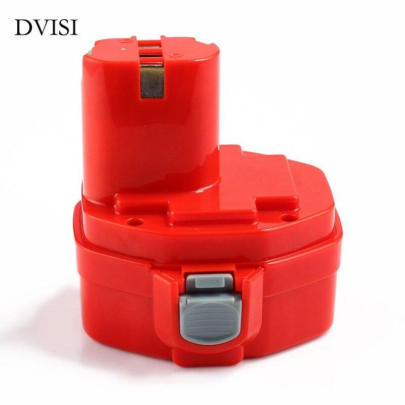 DVISI 14.4 V 3000 mAh Ni-MH 193158-3 Rechargeable batterie outil de remplacement sans fil pour Makita perceuse PA14 JR140D 1420