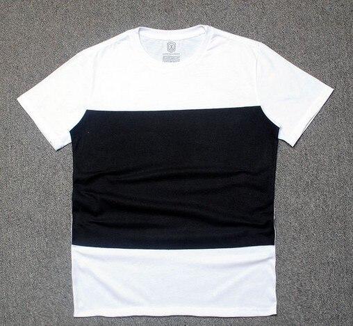 Black White Tee Dress Short Long Tee Men t shirt tyga cool ...