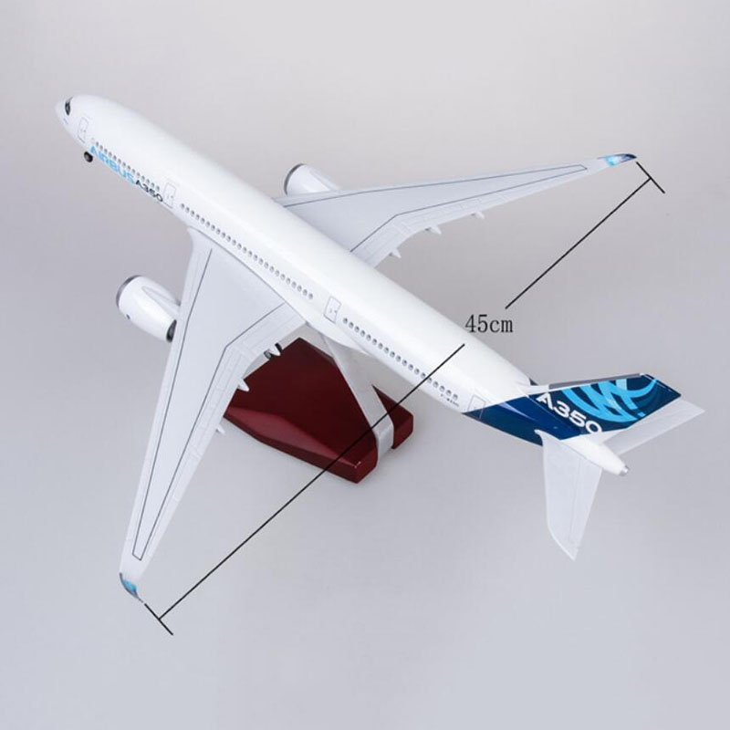 1/142 Scale Prototype XWB Airline Airplane 47CM Airbus A350 Model W Light and Wheel Diecast Plastic Resin Plane For Collection1/142 Scale Prototype XWB Airline Airplane 47CM Airbus A350 Model W Light and Wheel Diecast Plastic Resin Plane For Collection
