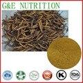 100% Cordyceps Sinensis Extracto 10:1 Polvo Marrón Natural